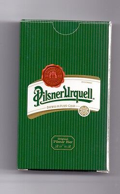 PILSNER URQUELL PLAYING CARDS # CZECH REPUBLIC # Pilsner Urquell beer