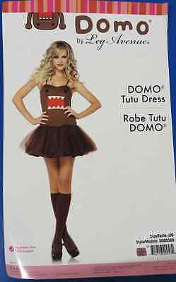 Domo Tutu Brown Monster NHK Japanese TV Fancy Dress Halloween Adult Costume - Halloween Domo Costume