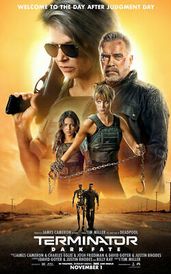 "Terminator: Dark Fate ( 11"" x 17"" ) Movie Collector's Poster Print (T3)"