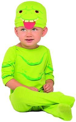Slimer Ghostbusters Green Ghost Fancy Dress Halloween Baby Toddler Child Costume