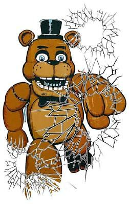 Five Nights at Freddy's Halloween Birthday Party Decoration Window - Halloween Party Posters