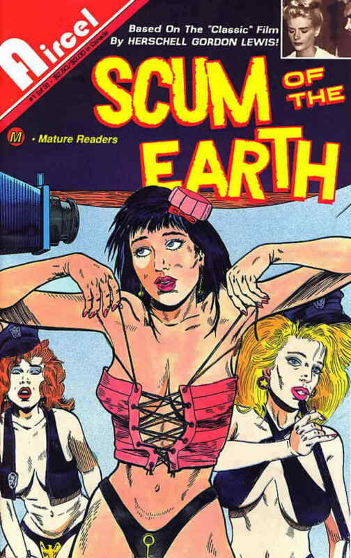 Scum of the Earth #1 VF/NM; Aircel | save on shipping - details inside