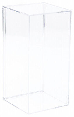 Pioneer Plastics Clear Acrylic Display Case 3.8125 X 3.875 X 7.8125