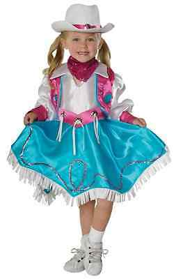 Rodeo Princess Cowgirl Western Fancy Dress Up Halloween Toddler Child Costume