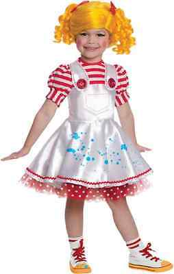 Spot Splatter Splash Lalaloopsy Artist Fancy Dress Up Halloween Child - Artist Costume