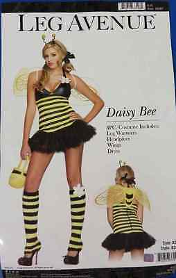 Daisy Bee Bumble Animal Insect Fancy Dress Up Halloween Sexy Adult Costume ()
