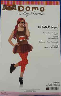 Domo Nerd Brown Monster NHK Japanese TV Fancy Dress Halloween Teen Costume