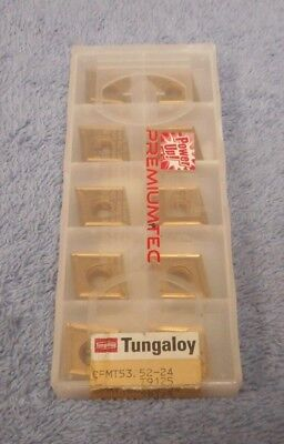 Tungaloy  Carbide Inserts  Cpmt 53.52 -24 Grade T9125  Pack Of 10