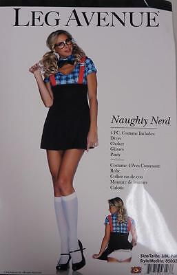 Naughty Nerd School Girl Plaid Cute Fancy Dress Up Halloween Sexy Adult - Cute Girl Nerd Costume