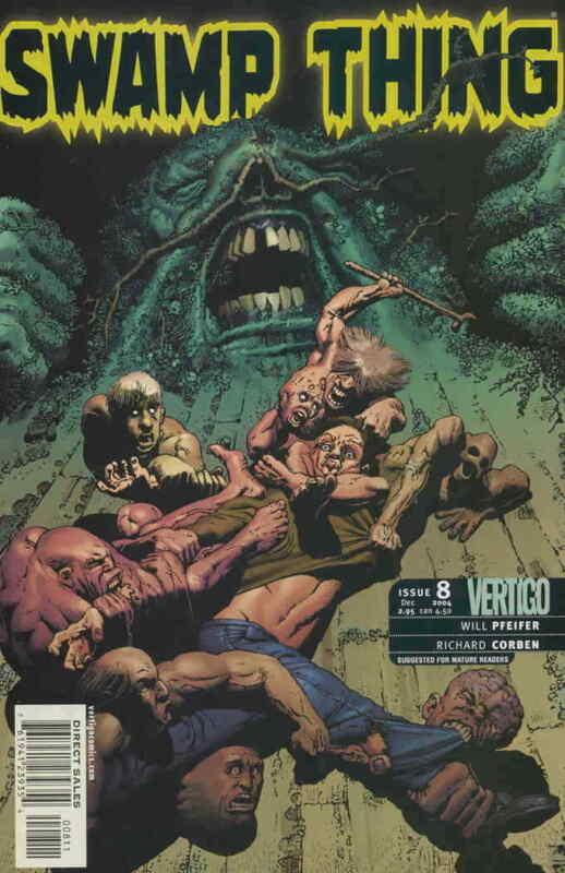Swamp Thing (4th Series) #8 VF; DC/Vertigo | save on shipping - details inside