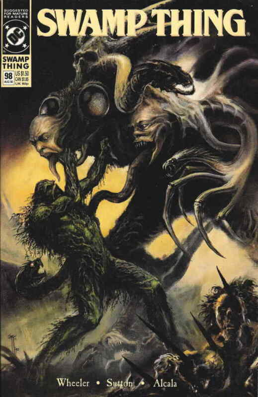 Swamp Thing (2nd Series) #98 VF; DC | save on shipping - details inside