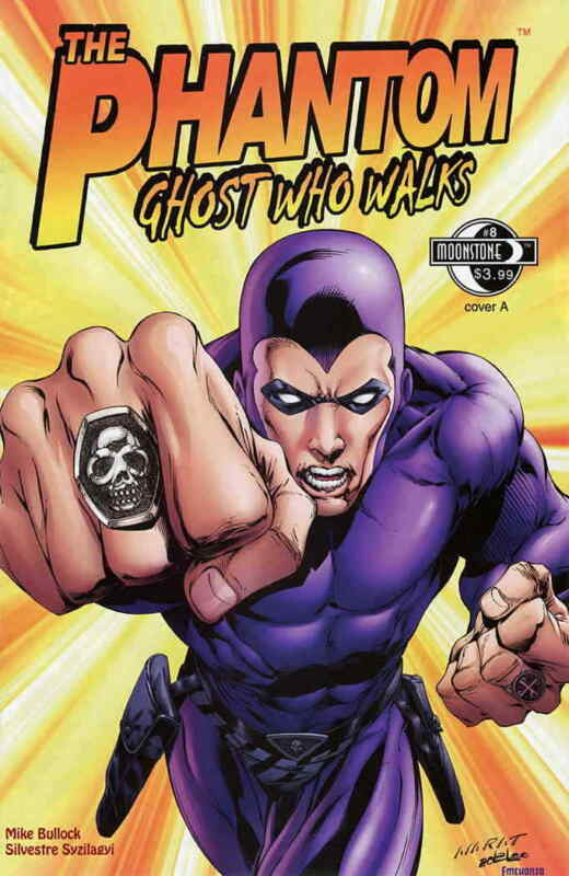 Phantom, The: Ghost Who Walks #8A VF/NM; Moonstone | save on shipping - details