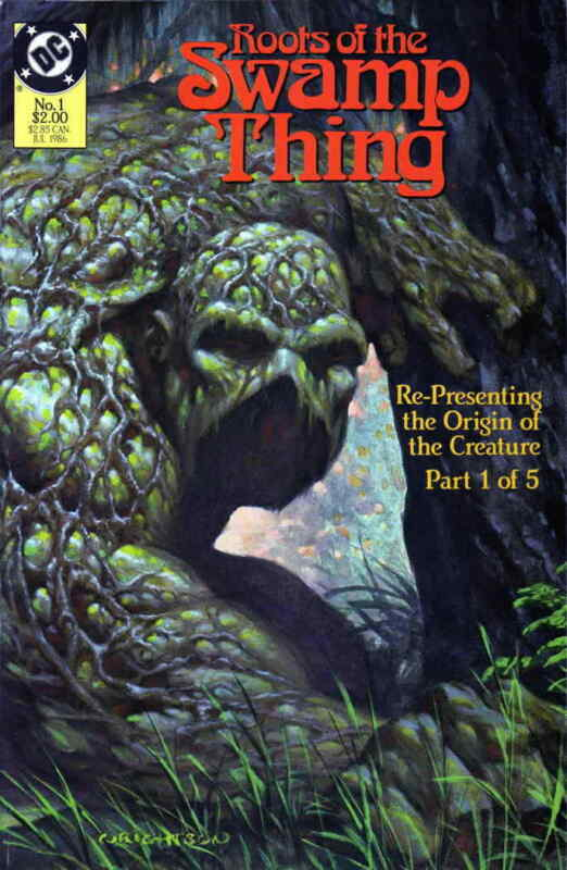 Roots of the Swamp Thing #1 VF; DC | save on shipping - details inside