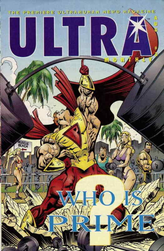 Ultra Monthly #2 VF; Malibu | save on shipping - details inside