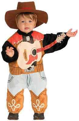 Country Singer Lil' Rock Star Rodeo Fancy Dress Up Halloween Baby Child - Baby Rock Star Kostüm