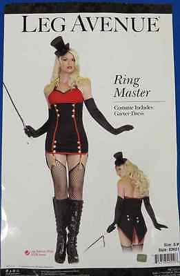 Ring Master Circus Carnival Mistress Fancy Dress Up Halloween Sexy Adult - Ringmaster Sexy Kostüm