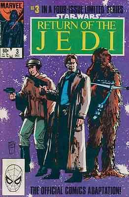 STAR WARS RETURN OF THE JEDI #3 1st PRINT VF// NEAR MINT 1983 MARVEL #bin16-1601
