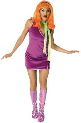 Daphne Blake Scooby-Doo Cartoon 60's Hippie Fancy Dress - Daphne Blake Kostüm