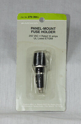 Vintage Radio Shack Archer 270-364a Screw-in Fuse Holder New Old Stock
