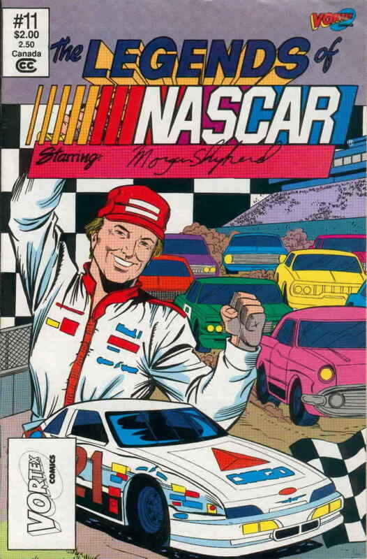 Legends of NASCAR, The #11 VF/NM; Vortex | save on shipping - details inside