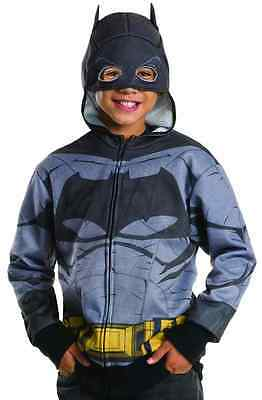 Batman Hoodie vs. Superman Fancy Dress Up Halloween - Batman Kostüm Hoodie
