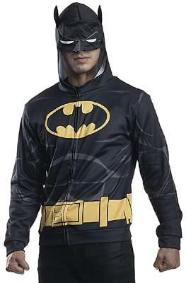 Batman Hoodie DC Comics Superhero Fancy Dress Up - Batman Kostüm Hoodie