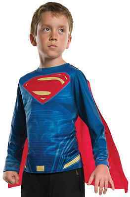 Superman Top Batman vs. Superhero Fancy Dress Halloween Child Costume Accessory