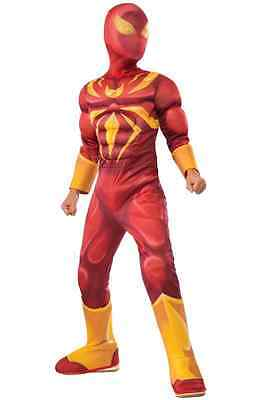 Iron Spider Ultimate Spider-Man Superhero Fancy Dress Halloween Child - Halloween Ultimate Costumes