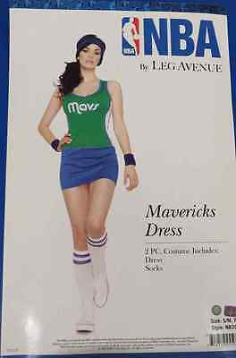 Dallas Mavericks NBA Basketball Sports Fancy Dress Halloween Sexy Adult Costume (Halloween Costumes Basketball)
