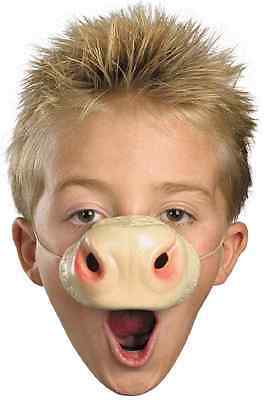 Cow Nose Farm Animal Barnyard Fancy Dress Up Halloween Child Costume Accessory - Cow Nose Costume