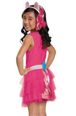 Pinkie Pie Tail My Little Pony Fancy Dress Up Halloween Child Costume - Pinkie Pie My Little Pony Halloween Costume