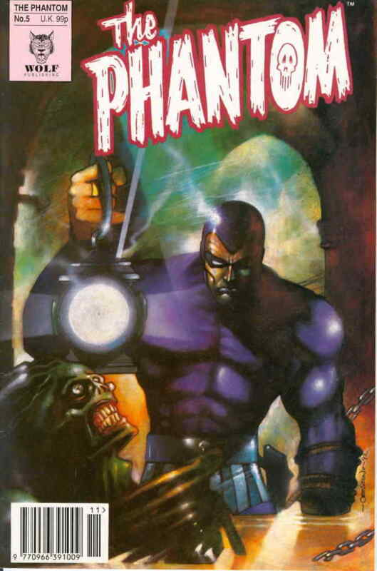 Phantom, The (4th Series) #5 VG; Wolf | low grade comic - save on shipping - det