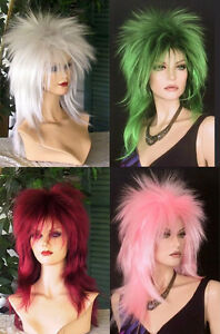 Punky-Wig-Long-Shaggy-Spikey-Punk-Rock-Party-Anime-Costume-Cosplay-Adult-OSFM