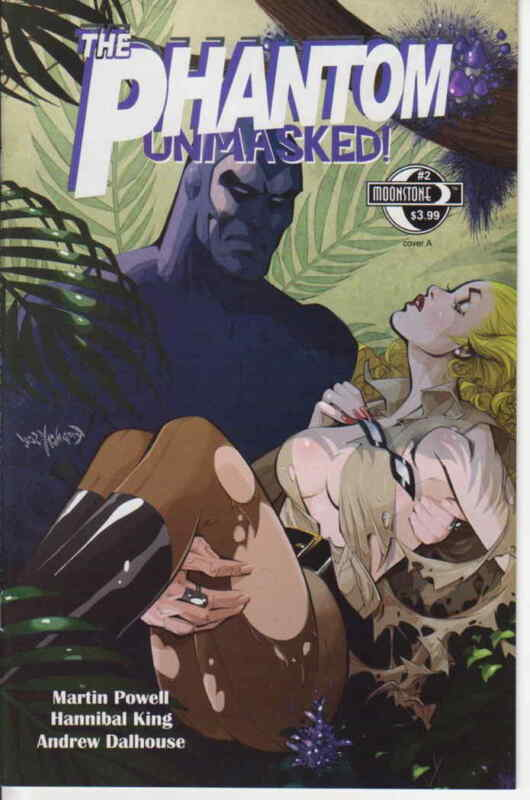 Phantom, The: Unmasked #2A VF/NM; Moonstone | save on shipping - details inside