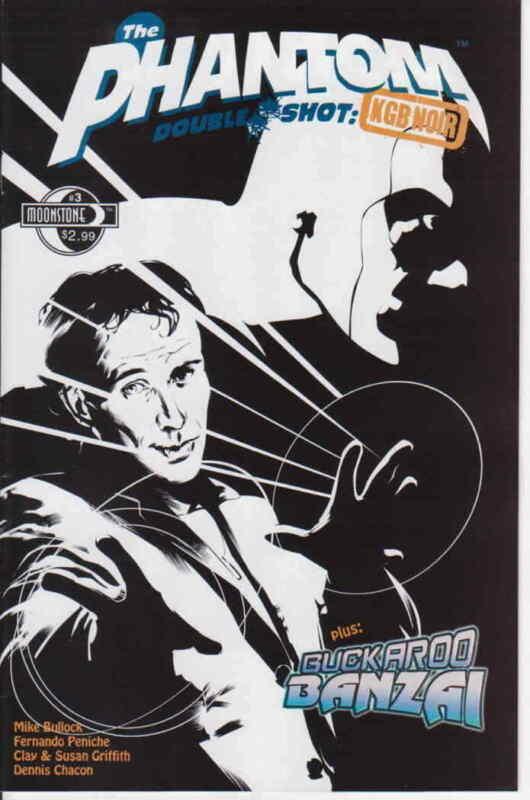 Phantom Double Shot, The: KGB Noir #3 VF/NM; Moonstone | save on shipping - deta