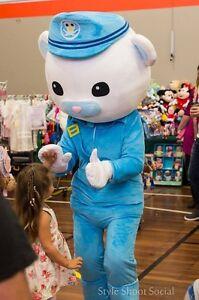 Captain Barnacles Octonauts Mascot Costume Hire Warners Bay Lake Macquarie Area Preview