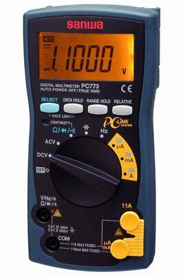 Sanwa Electric Digital Multi Meter Pc-773 Electrical Test Equipment Wtracking