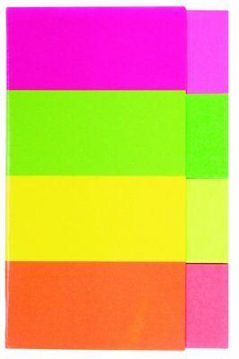 Kores Pagemarker Papier, 20 x 50 mm Neonfarben 200 Stück