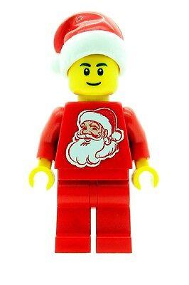 ifigur Weihnachten Junge mit Weihnachtsmann Torso Bedruckt (Weihnachten Custome)
