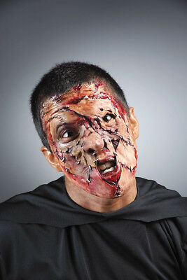 Stitched Face Makeup Kit Foam Appliance Latex Halloween for sale  Shipping to India