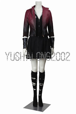 tron Cosplay Kostüm Halloween Costume Scarlet Witch Wanda  (Halloween Avengers)
