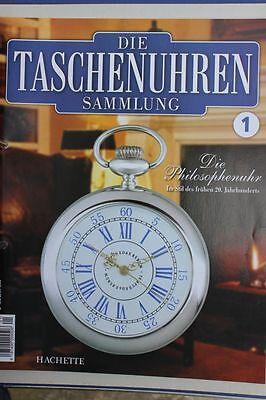 Hachette - Die Taschenuhren-Sammlung Heft 1-39 + 77 - Uhrenmagazin