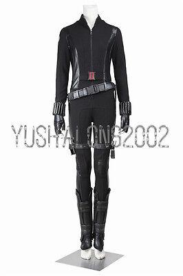 Captain America 2 Winter Soldier cosplay Kostüm Natalia Black Widow (Captain America Kostüm Winter Soldier)
