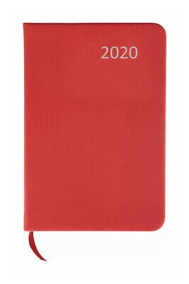 / ca DIN A7 / mit PU Einband / Farbe: rot (Kalender Mit Taschen)