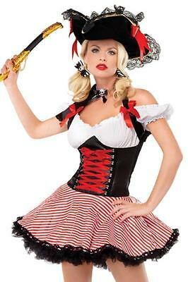 Pirate Wench Costume Womens Leg Avenue 83088 - Leg Avenue Pirate Wench Costume