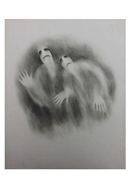 Julienne Hertz (Boulay 1905 - 1977 Strasbourg) - Bleistiftzeichnung