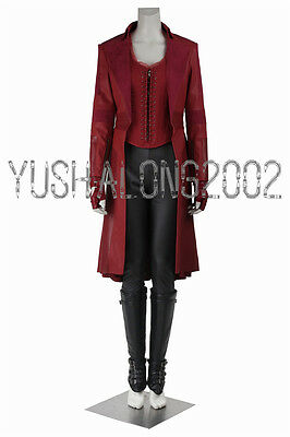 Captain America 3 Civil War cosplay Kostüm Scarlet Witch Wanda Django Maximoff