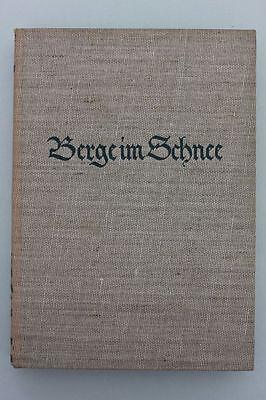 Louis Trenker - Berge im Schnee. Das Winterbuch.