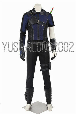 Captain America 3 Civil War Hawkeye Clinton Francis cosplay Kostüme (Hawkeye Cosplay Kostüme)