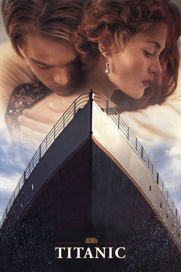 24X36Inch Art TITANIC Movie Poster Leonardo DiCaprio RARE P0